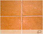 Hairline cracks in floor joints are often evident by the presents of Efflorescence.