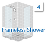 Click if you have a leaking shower with a framless shower screen